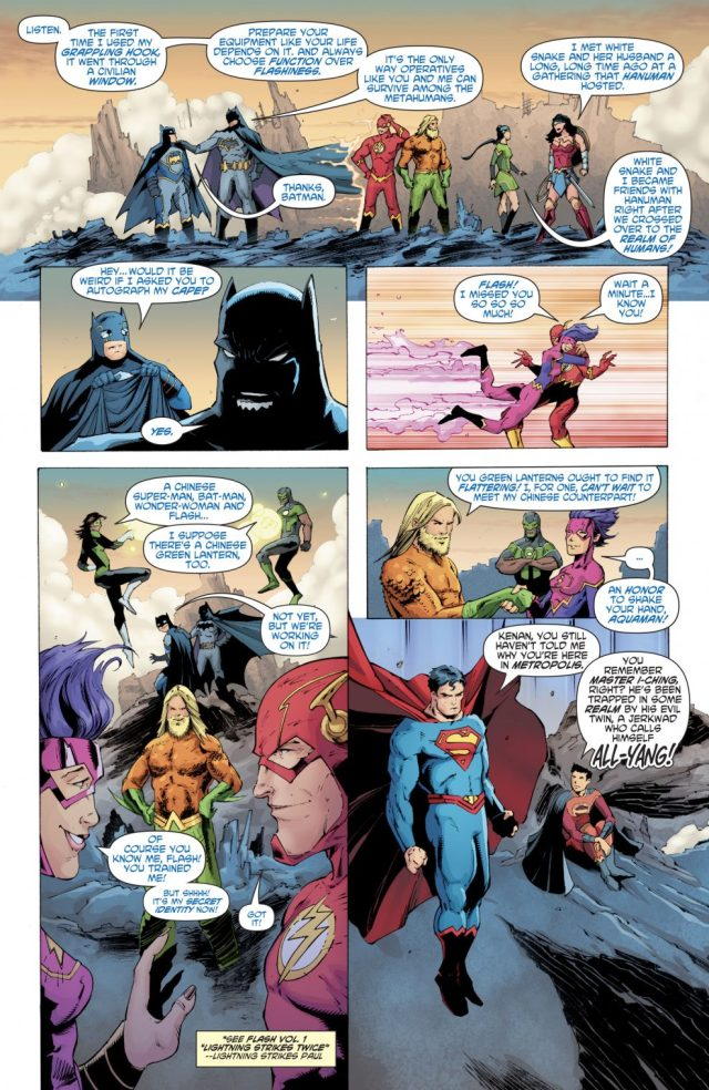 Justice League Of China Meets The Justice League