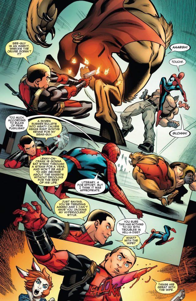 Spider-Man And Deadpool VS The Hateful Hexad