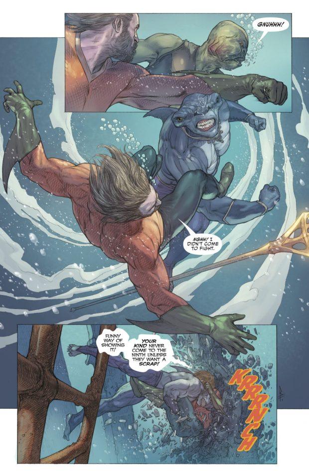 Aquaman Recruits King Shark