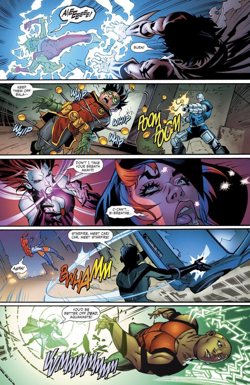 Superboy Defeats The Hangmen