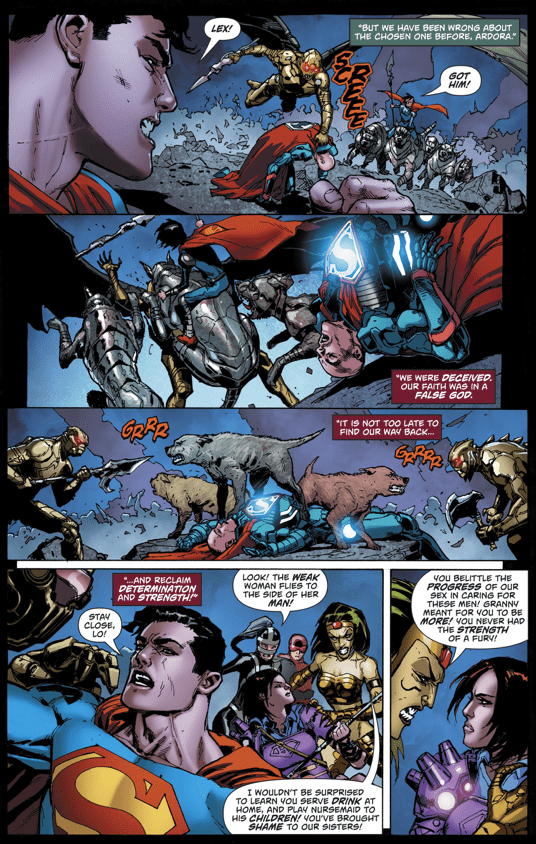 Superman's Family VS Apokolips (Rebirth)