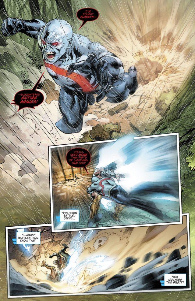Zeus VS Darkseid (Rebirth)