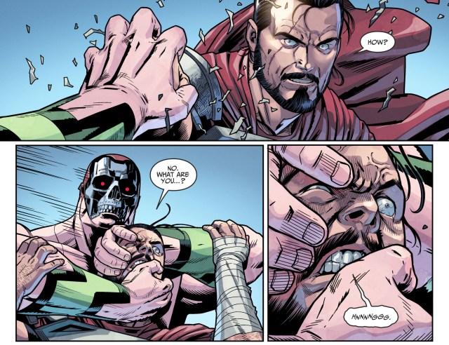 Amazo Kills General Zod (Injustice II)