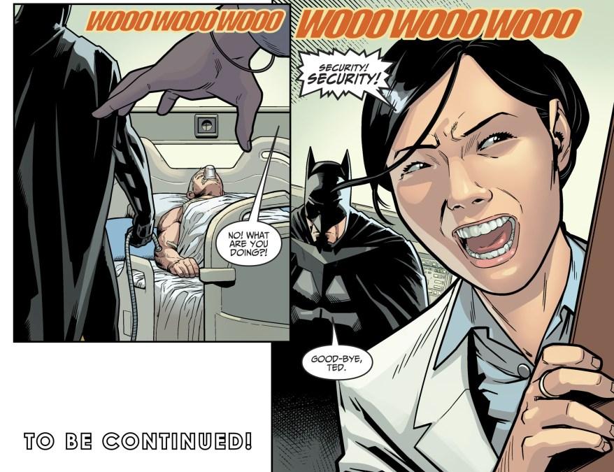 Batman Kills Wild Cat (Injustice II)