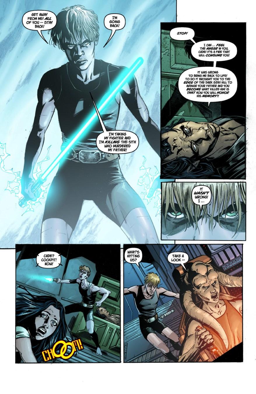 Cade Skywalker Brings Wolf Sazen Back To Life