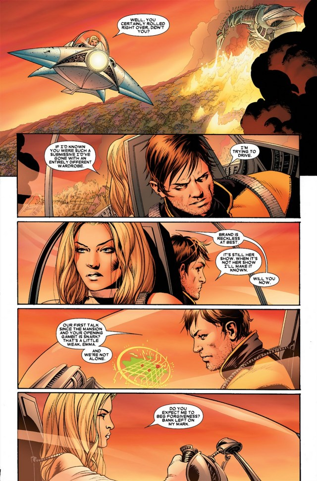 Cyclops Says I Love You To Emma Frost