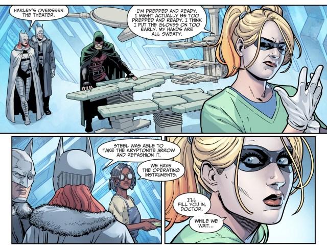 Doctor Mid-Nite Operates On Superboy (Injustice II)