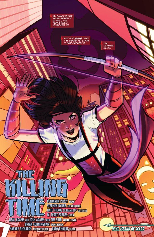 Emiko Queen (Green Arrow Vol 6 #7)