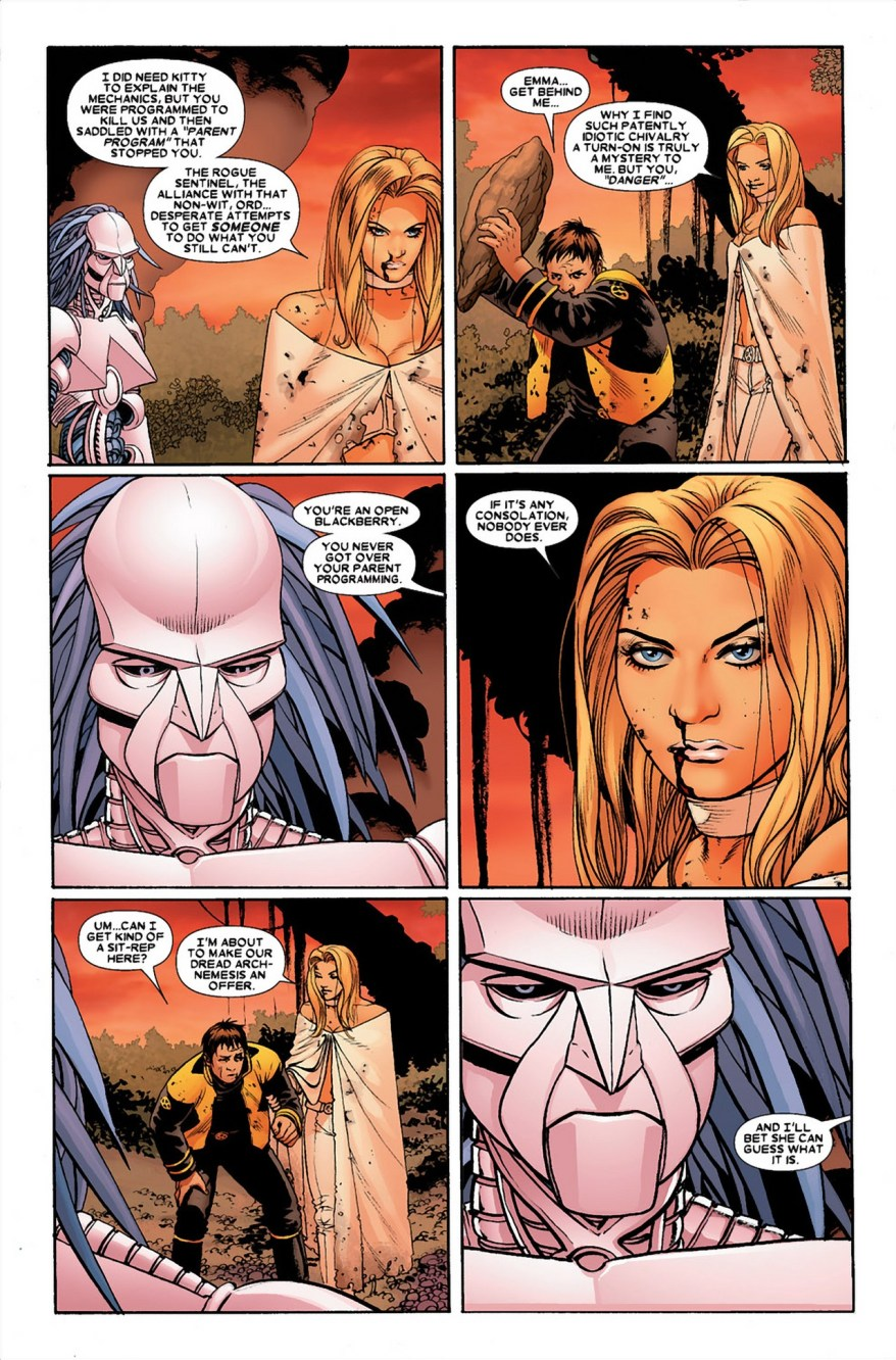 Emma Frost VS Danger (Astonishing X-Men)