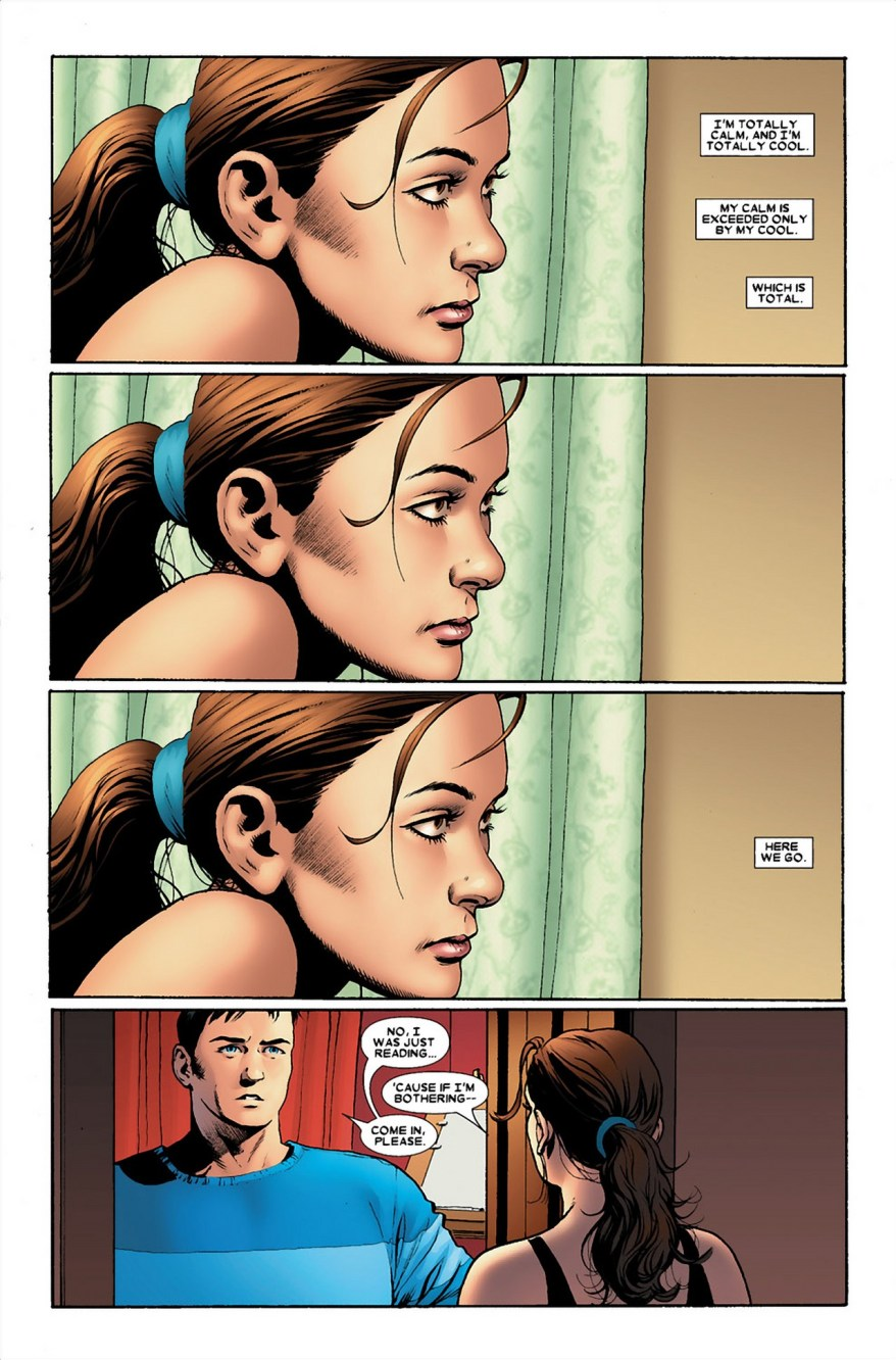 Kitty Pryde And Colossus Kiss (Astonishing X-Men)