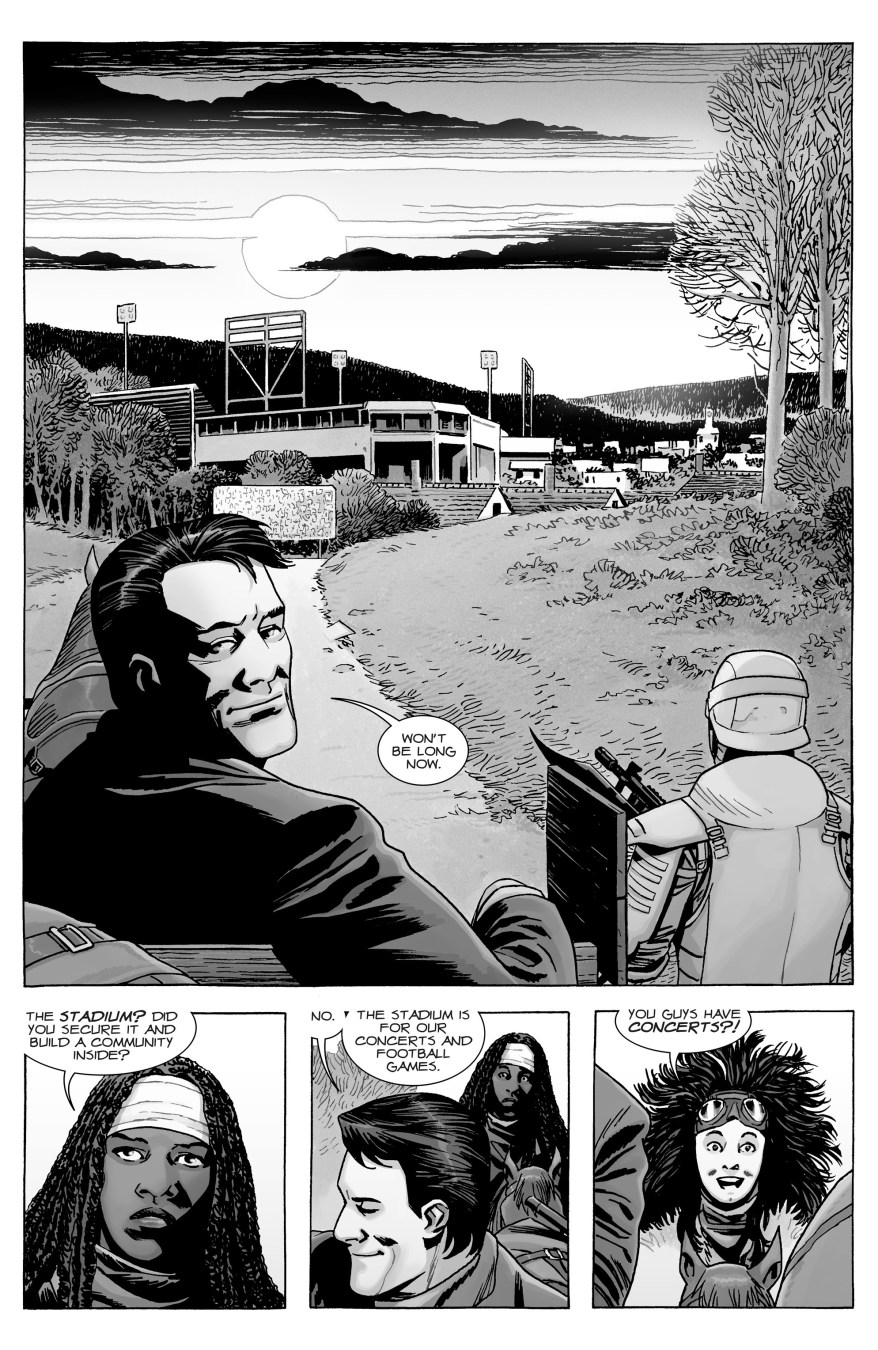 Lance Hornsby Describes The Commonwealth (The Walking Dead)