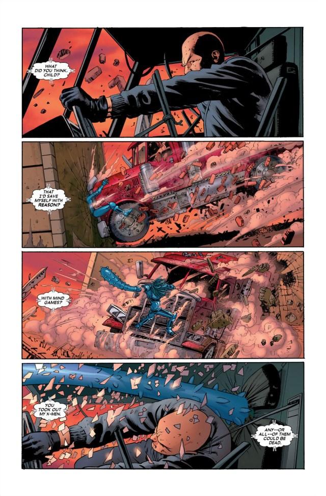 Professor X VS Danger (Astonishing X-Men)
