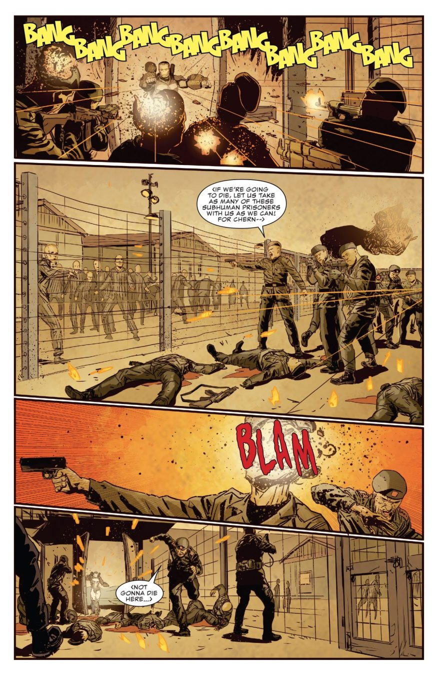 The Punisher Liberates Petrov's Prisoner Camps