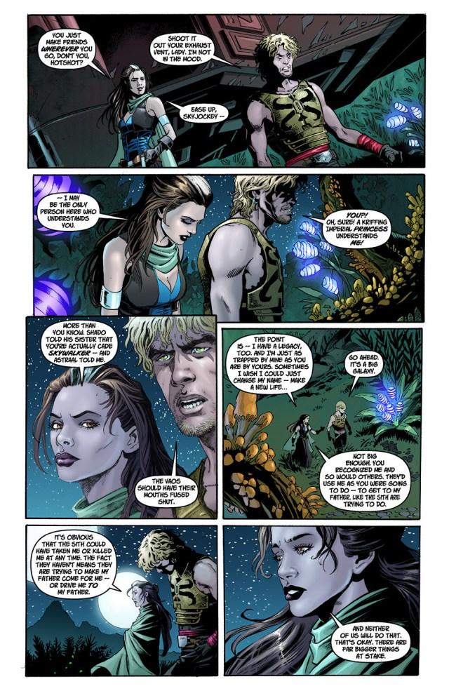 Cade Skywalker Bonds With Princess Marasiah Fel