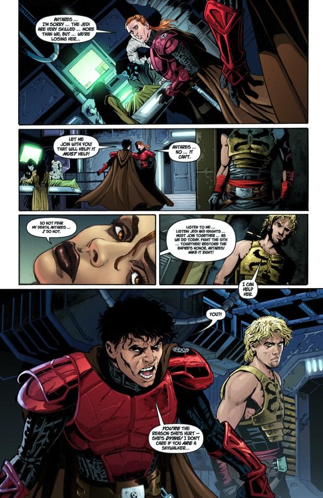 Cade Skywalker Heals Marasiah Fel