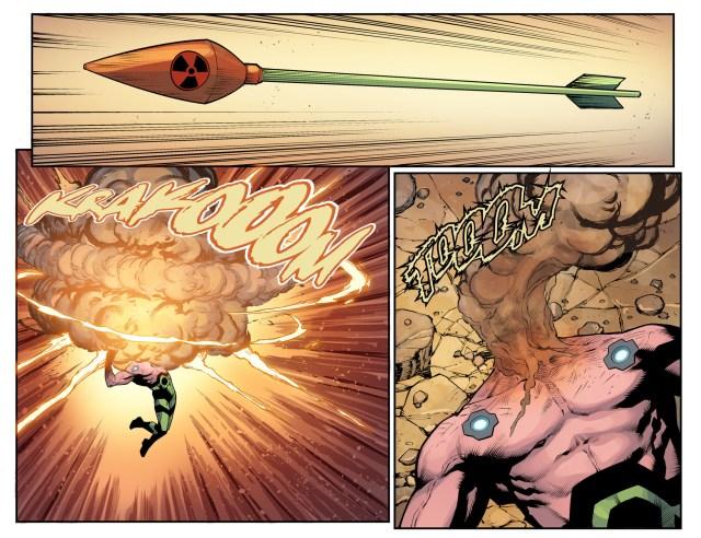 Green Arrow's Most Powerful Arrow (Injustice II)