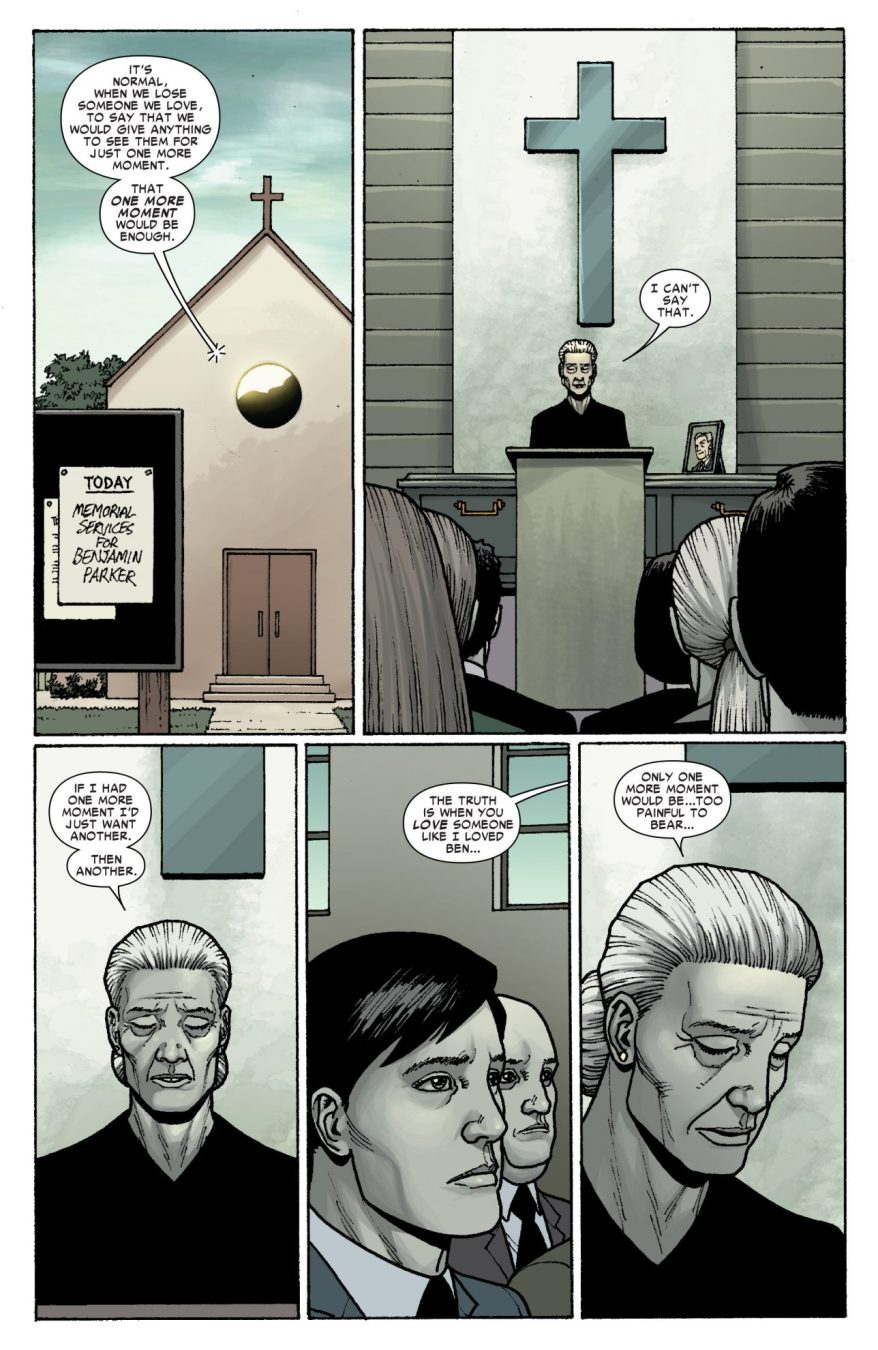 Aunt May's Eulogy For Uncle Ben