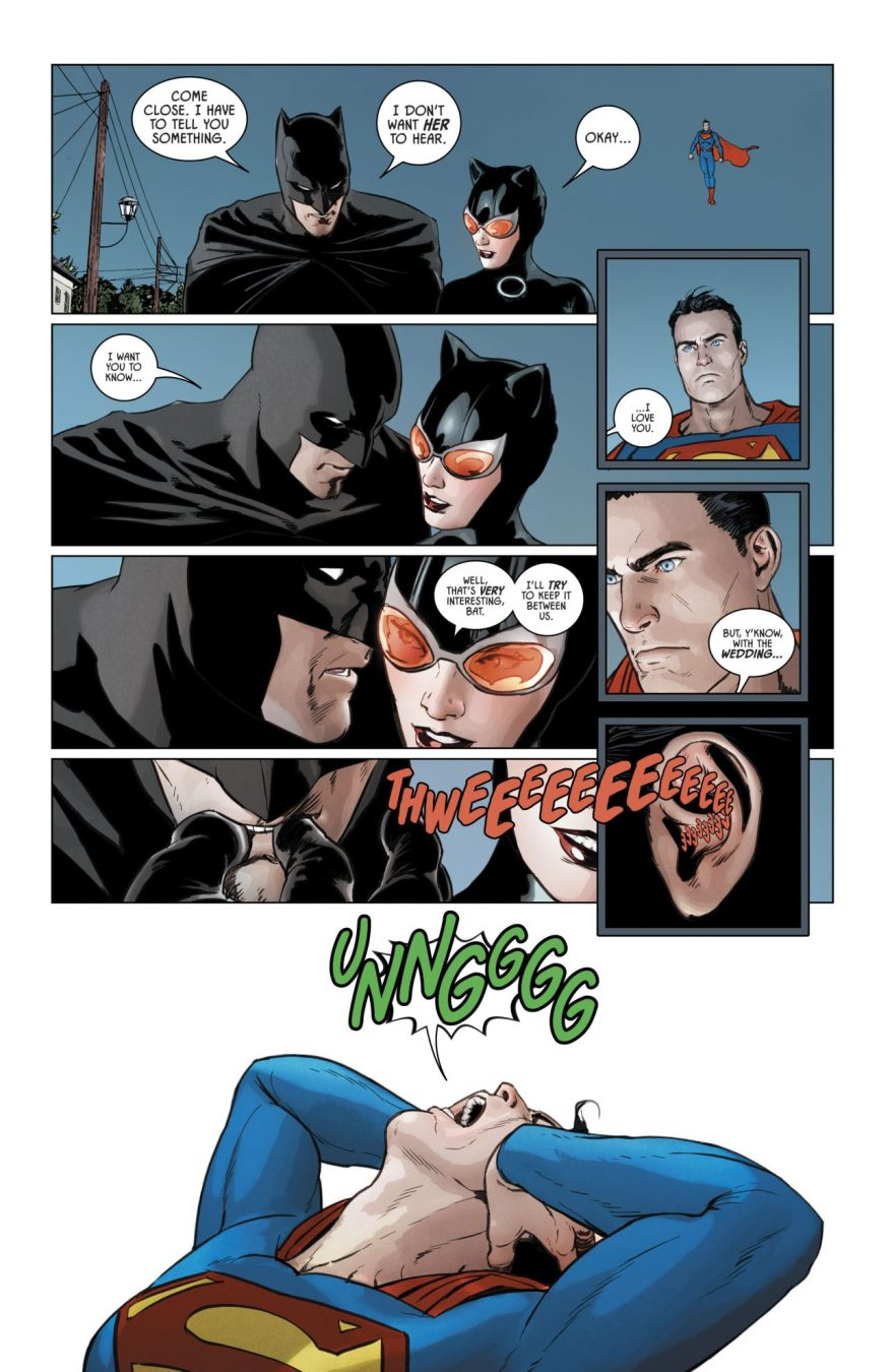 Batman Takes Down Superman With A Whistle