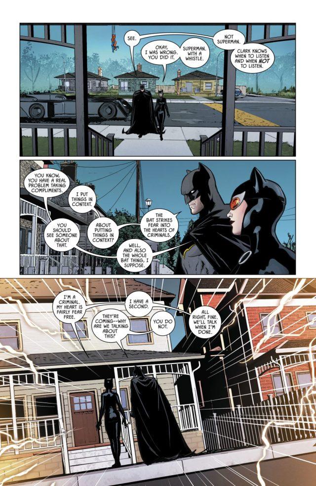 Batman Takes Down Superman With A Whistle