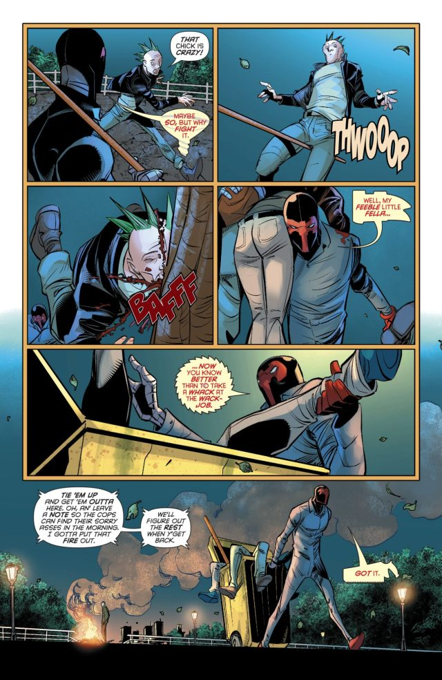 Harley Quinn Sympathizes With Homeless People