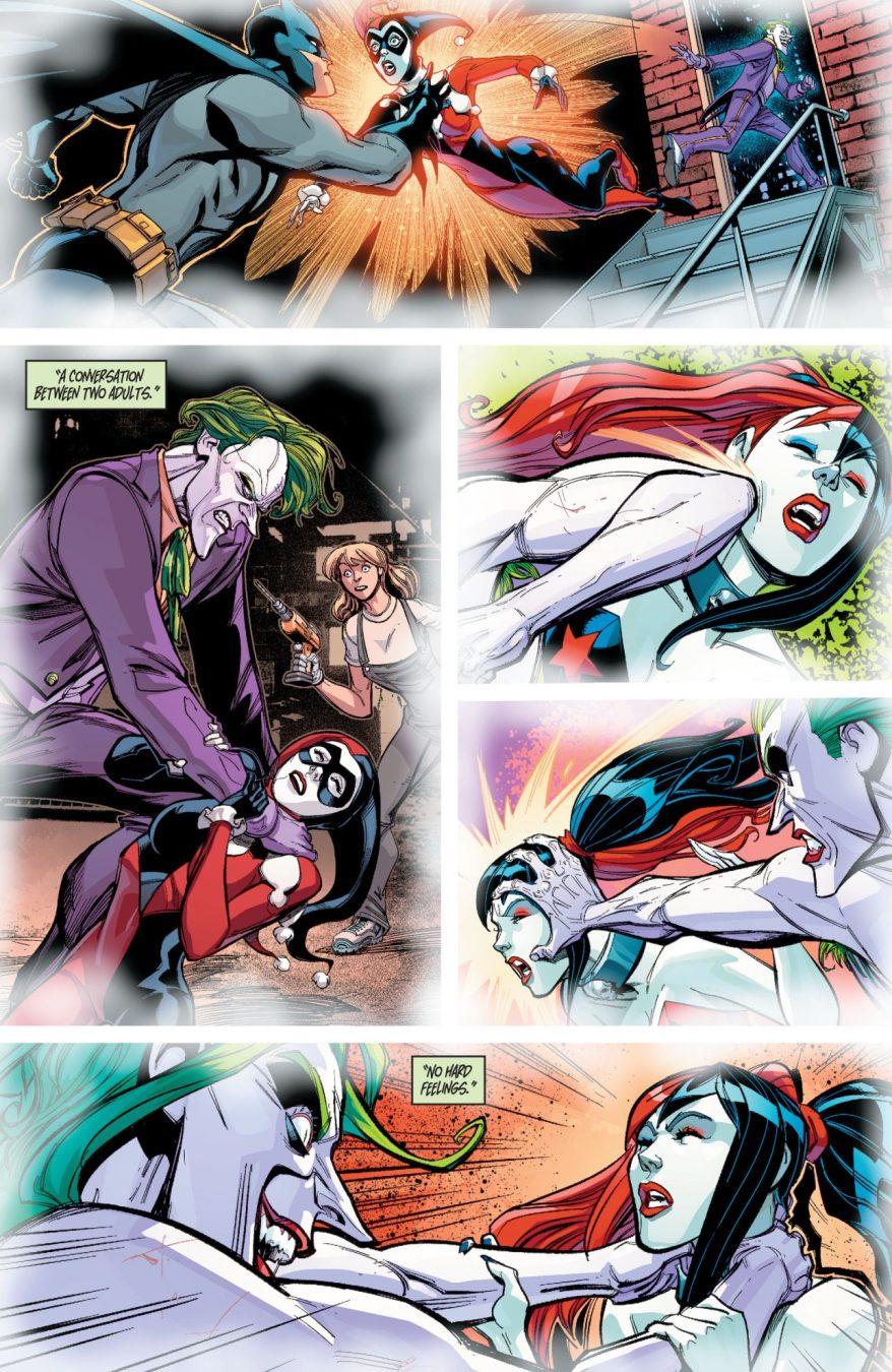 Harley Quinn's Dream About The Joker (Rebirth)