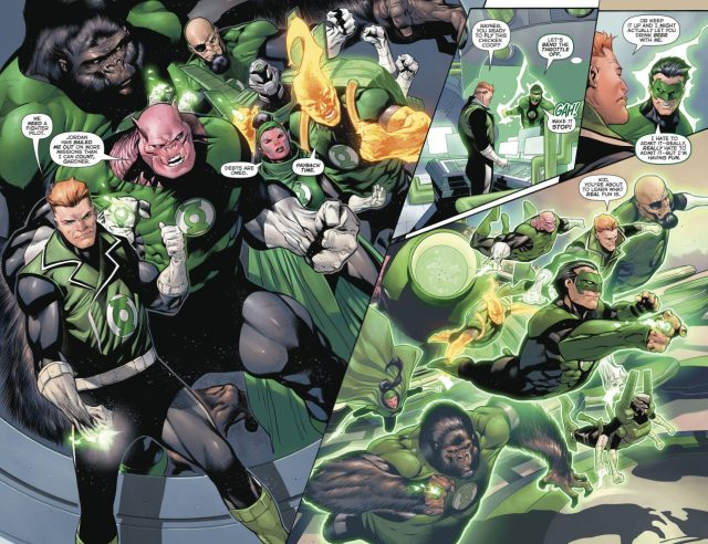 Side Effect Of Wearing Hal Jordan's Green Lantern Ring