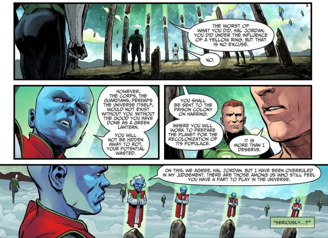 Hal Jordan's Punishment From The Guardians (Injustice II)