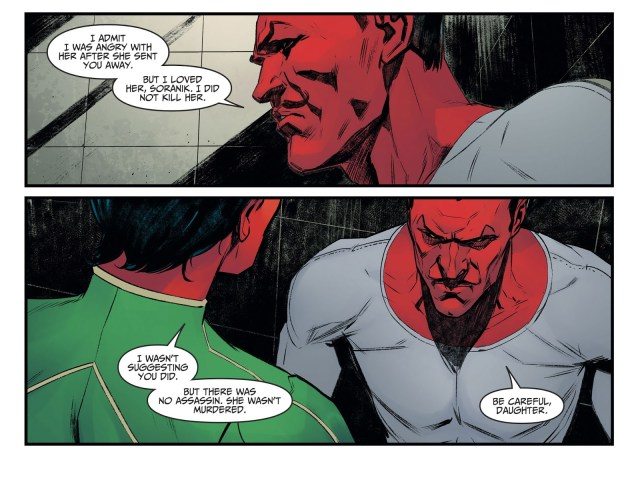Sinestro's Wife Commits Suicide (Injustice II)