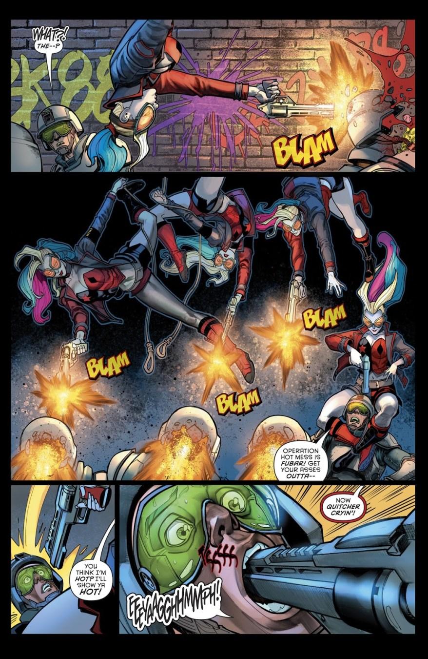The Unconquerable 25 Ambushes Harley Quinn