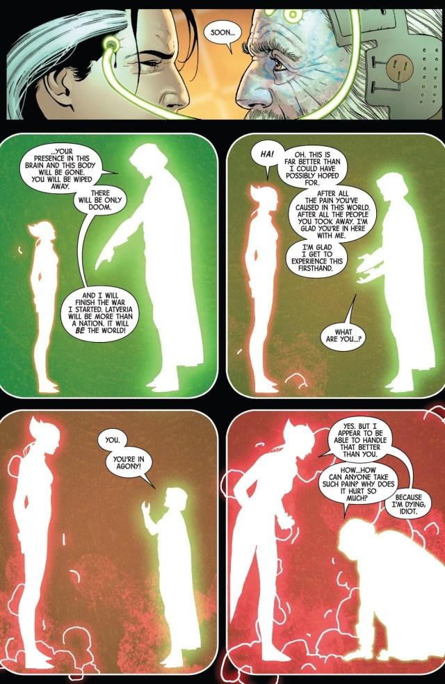 All New Wolverine Kills Doctor Doom