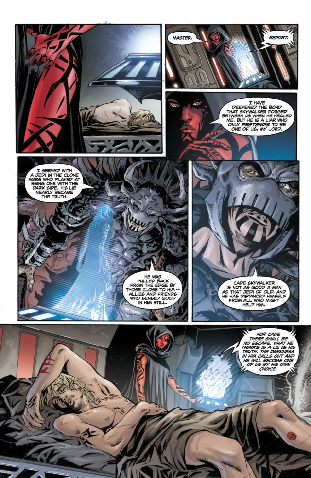Cade Skywalker Sleeps With Darth Talon