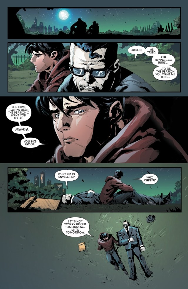 Red Hood Being A Friend To Bizarro
