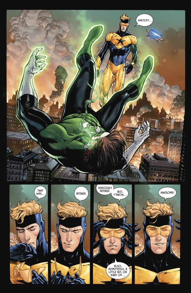 Suicide By Green Lantern Ring