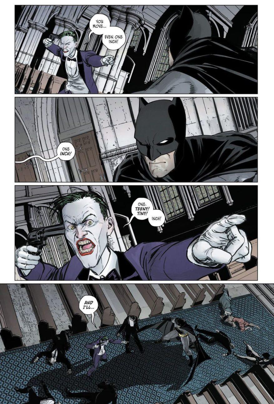 Batman Prays With The Joker