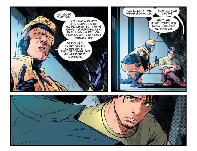 Booster Gold Bonds With Jaime Reyes (Injustice II)