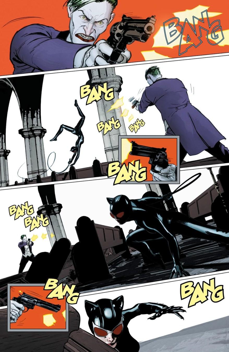 Catwoman VS The Joker (Rebirth)