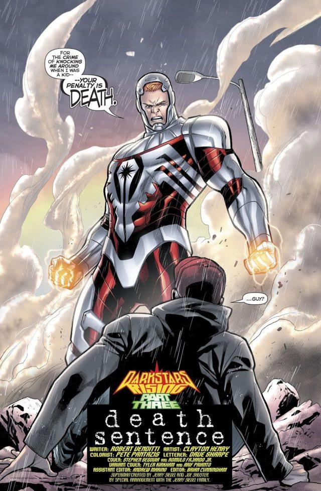 Darkstar Guy Gardner (Hal Jordan And The Green Lantern Corps #46)