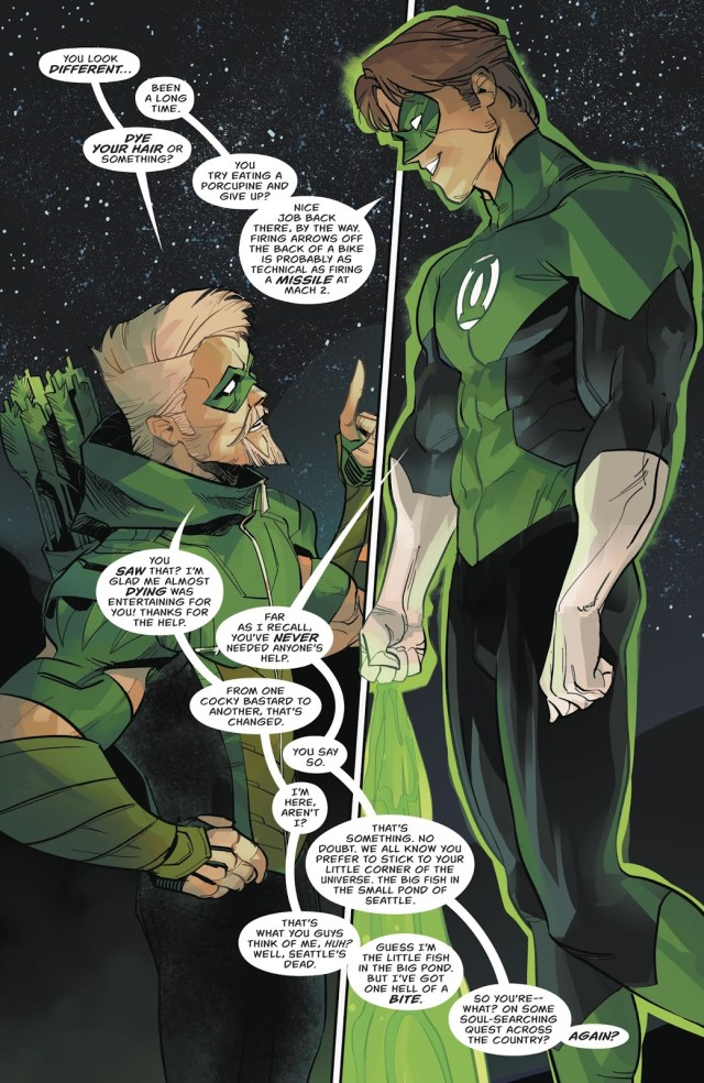 Green Arrow And Green Lantern Team Up (Rebirth)