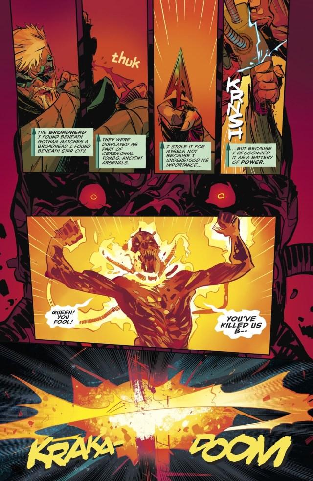 Green Arrow VS The Burned (Space)