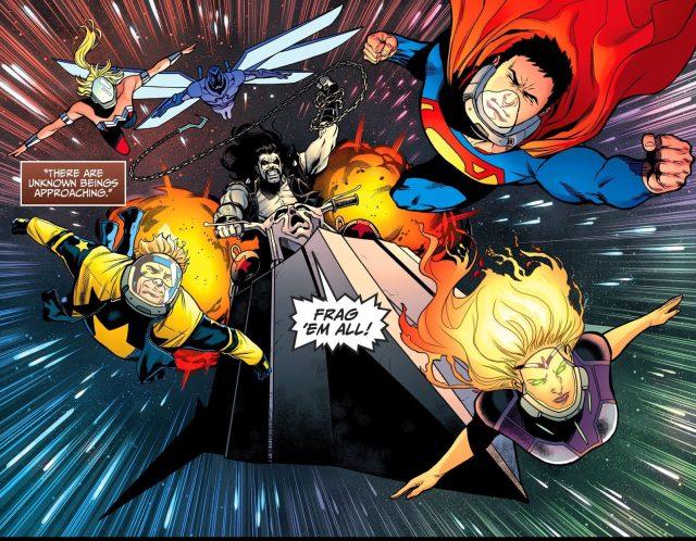 Titans And Lobo (Injustice II)