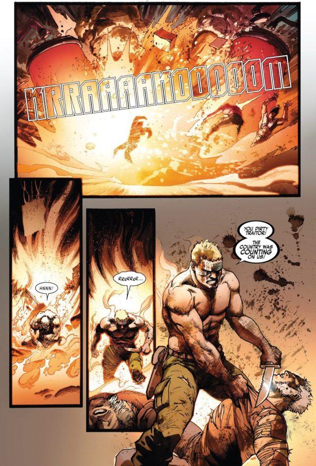 Weapon X Takes Down Nuke