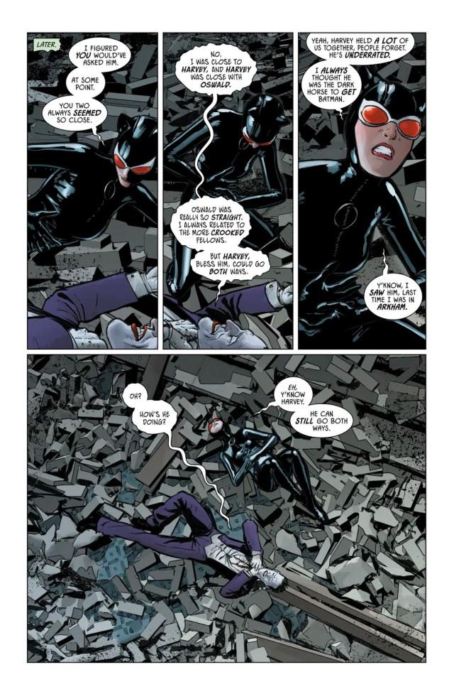 Why The Joker Loves Harvey Dent (Rebirth)