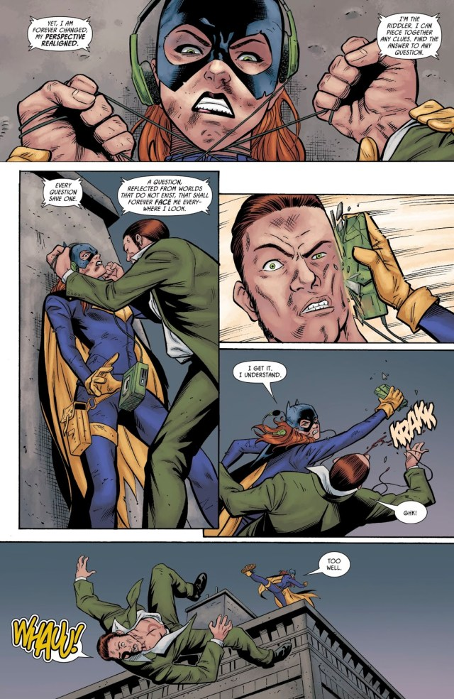 Batgirl VS The Riddler (Prelude To The Wedding)