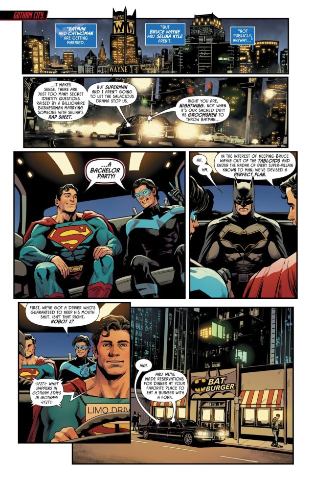 Batman's Bachelor Party