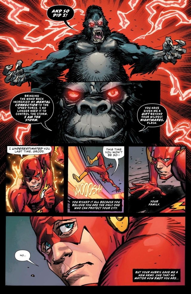 Gorilla Grodd Mind Controls The Flash Family
