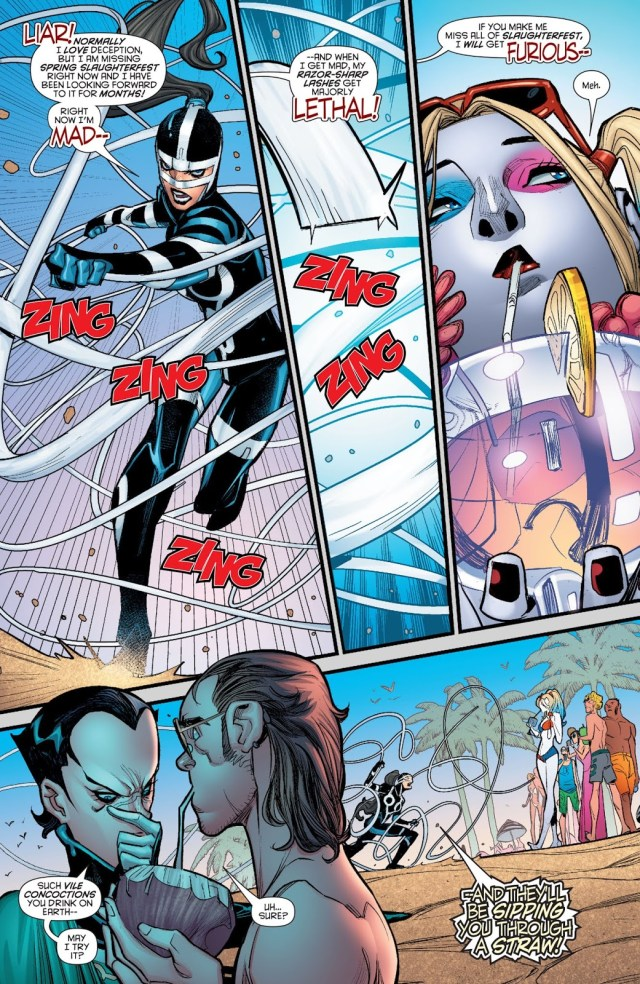 Harley Quinn VS Lashina And Bernadeth