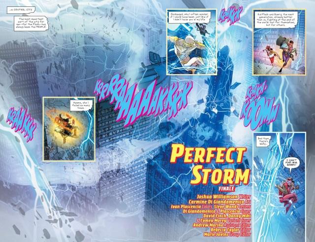 The Flash VS Gorilla Grodd (Perfect Storm)
