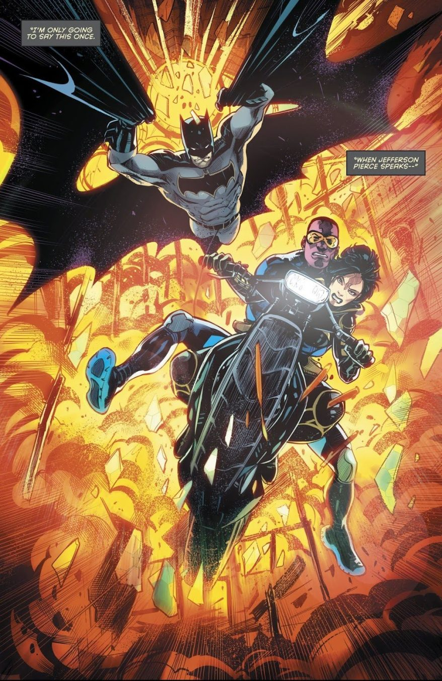 Batman, Black Lightning And Orphan (Detective Comics #986)