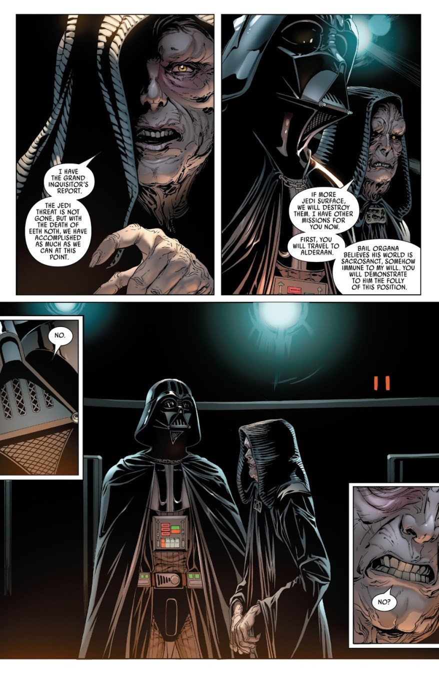 Darth Vader Wants Mustafar As His Personal Planet