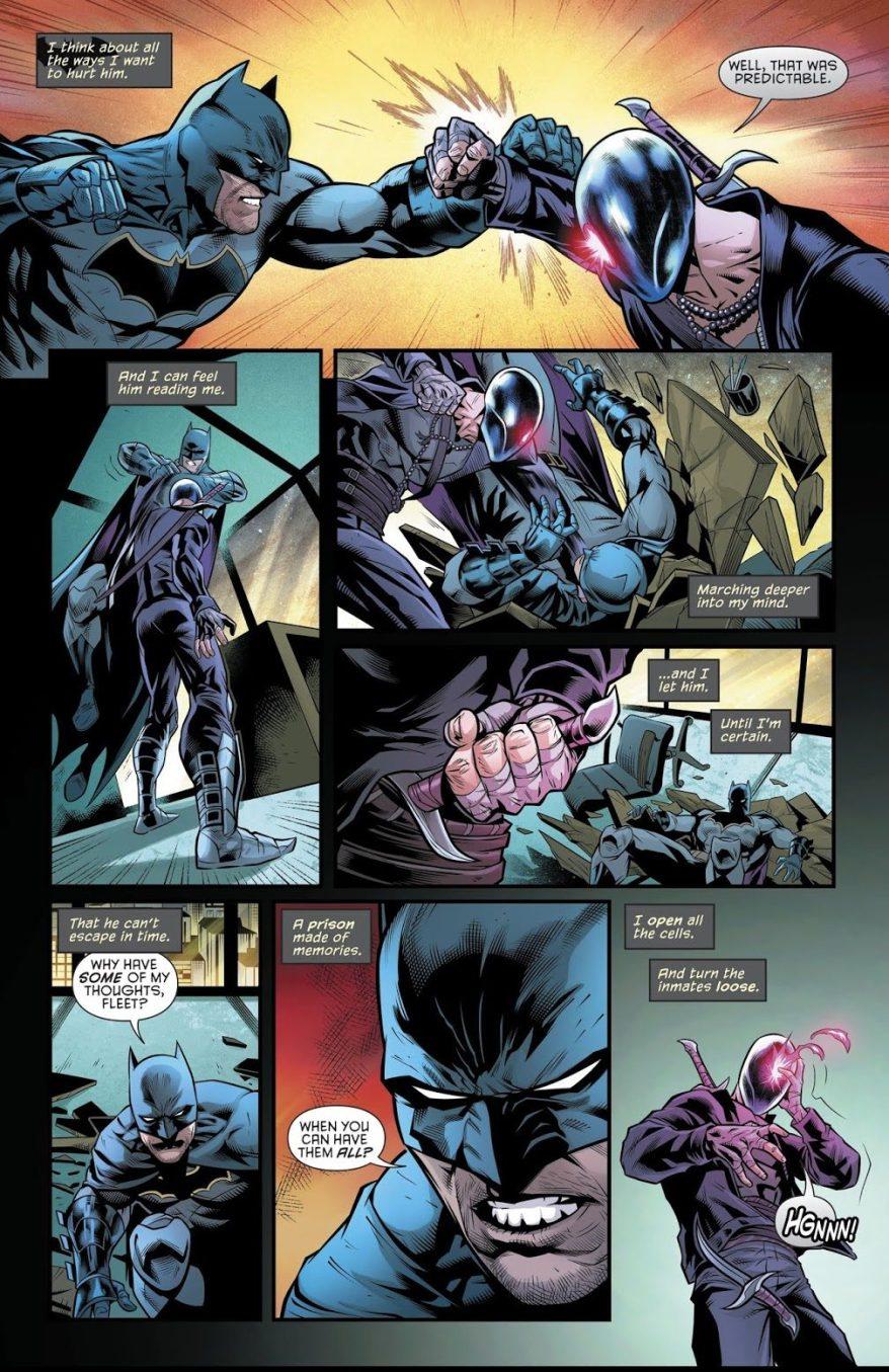 How Batman Defeated Karma (Rebirth)